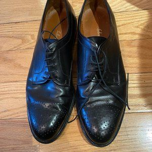 Salvatore Ferragamo Men's Dress Shoes Leather 10.5